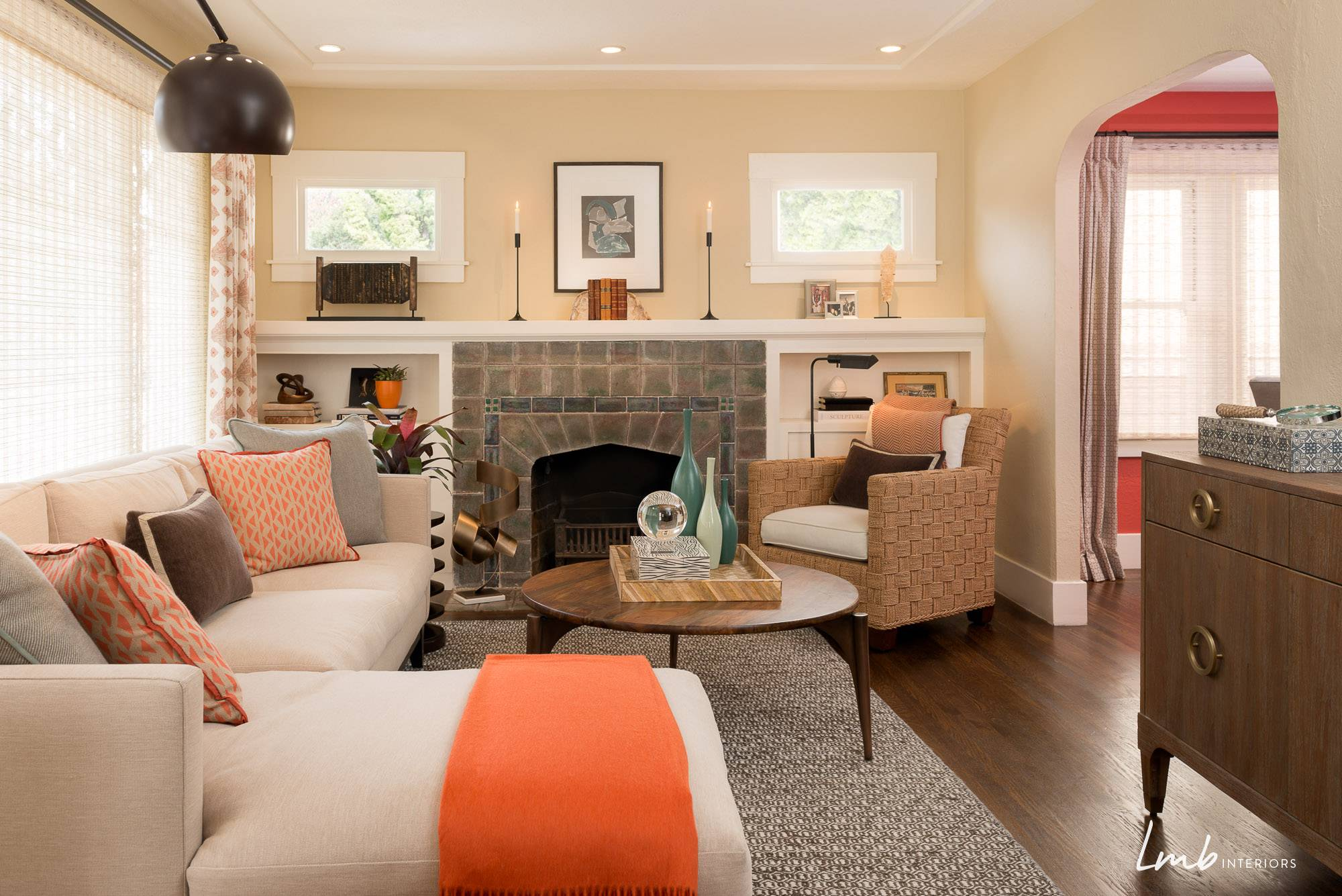 From drab to fab laura martin bovard interiors for Living room arrangement for small space