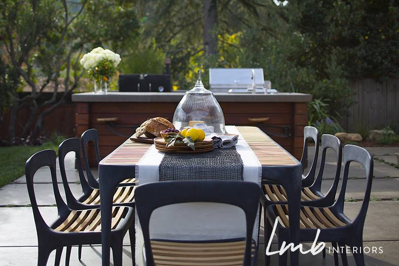 Outdoor kitchen installation -- Lafayette