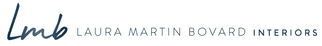 Laura Martin Bovard Interiors Retina Logo