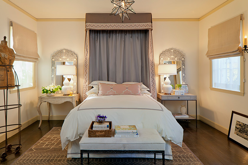 Elegant Moroccan Inspired Guest Bedroom