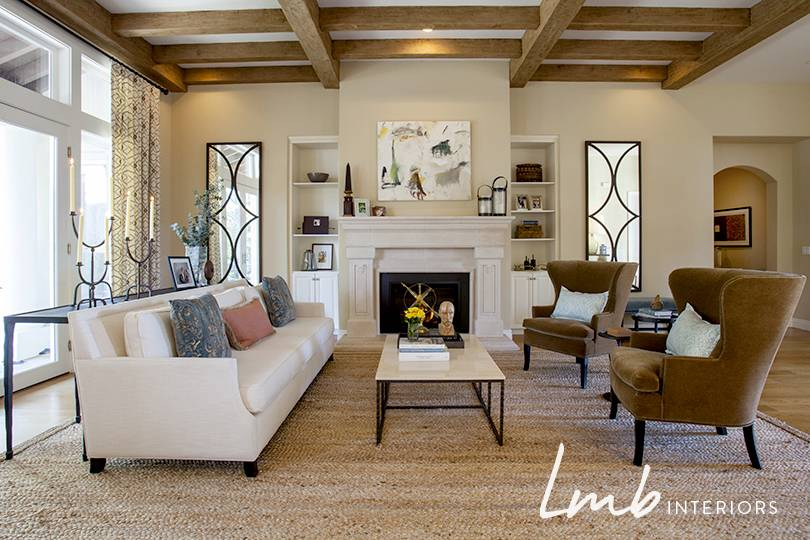 Traditional home interiors - Mediterranean Home Interior Design Laura Martin Bovard Interiors