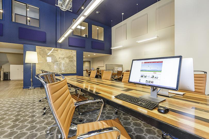 Red Oak Solano Office Interior Design