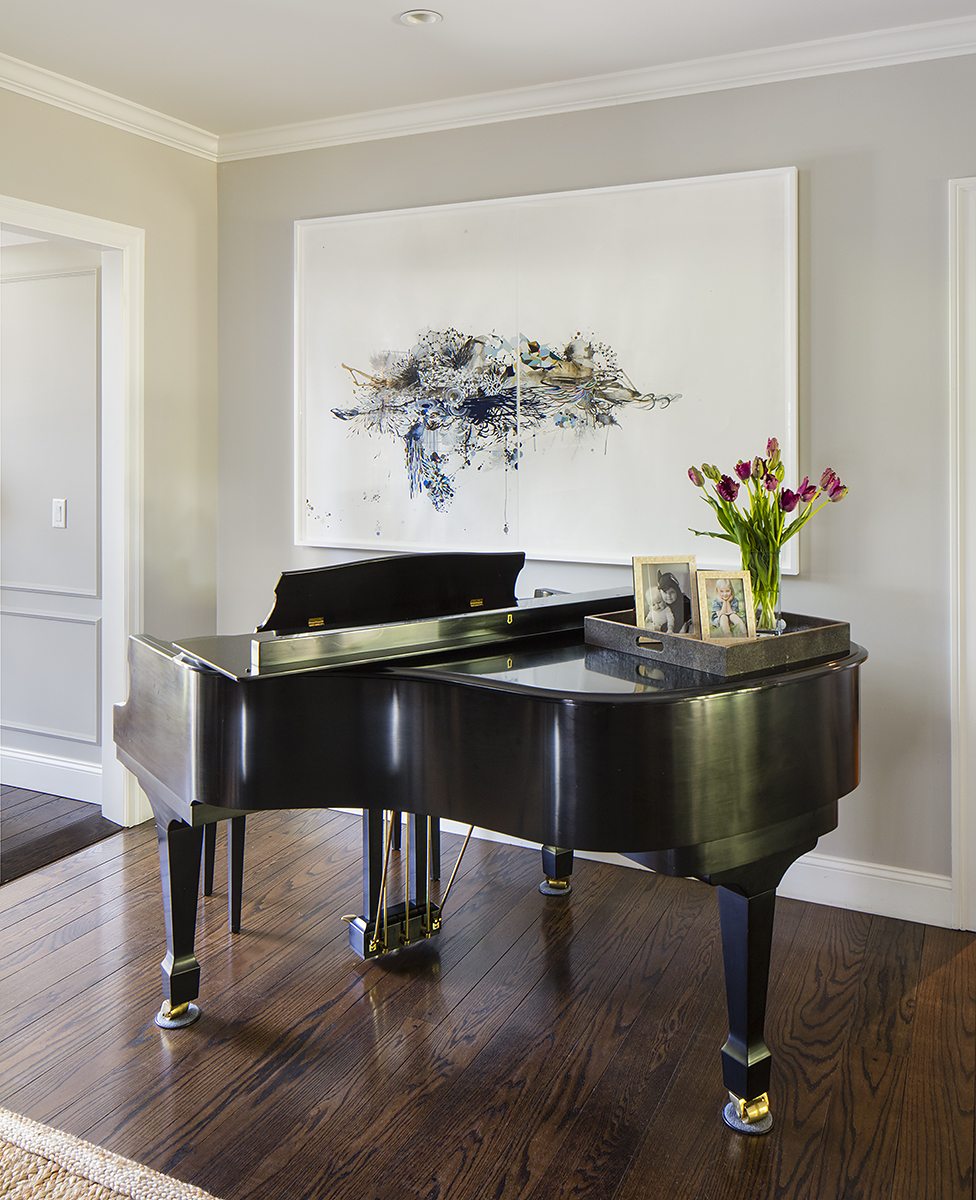 11 LR - Piano - Transition to Family Room