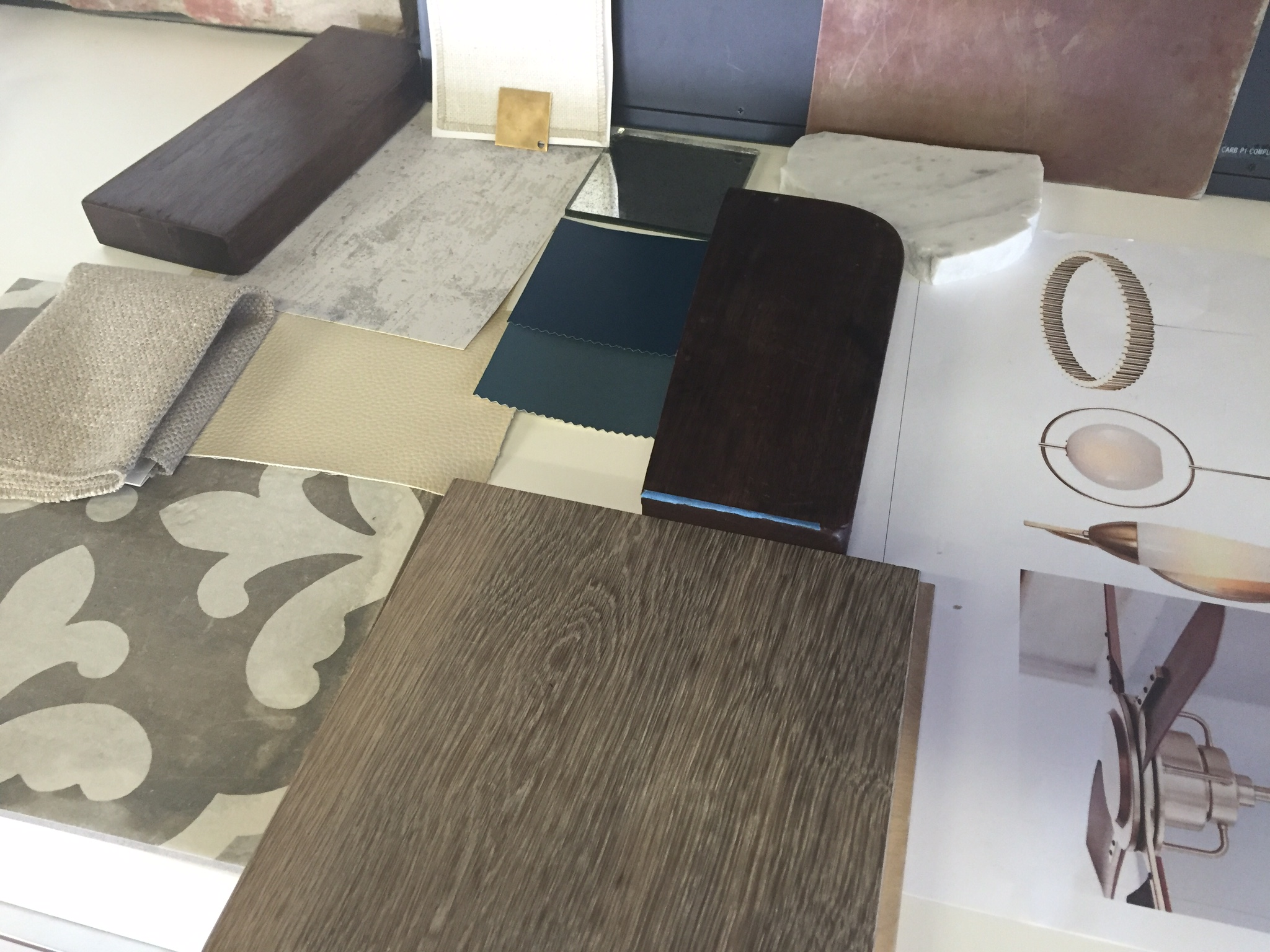 Design options for The Wolf, LMBInteriors, Oakland restaurant design