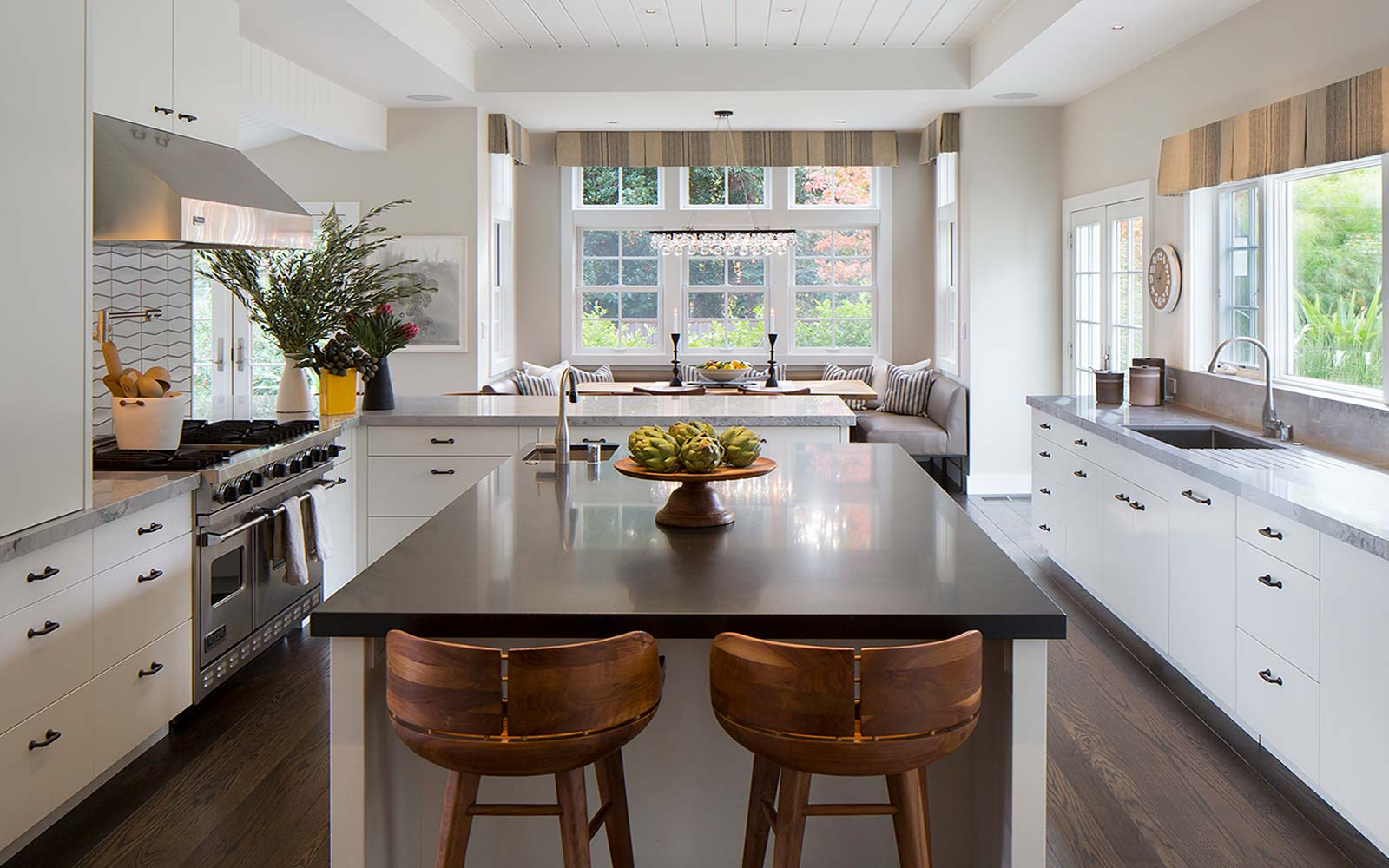 California ranch style remodel orinda hillsborough for California style kitchen
