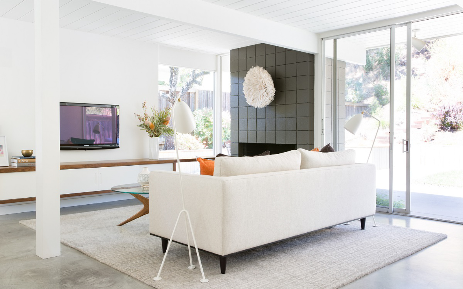 Mid Century Modern Eichler As The Perfect Blank Canvas Before And