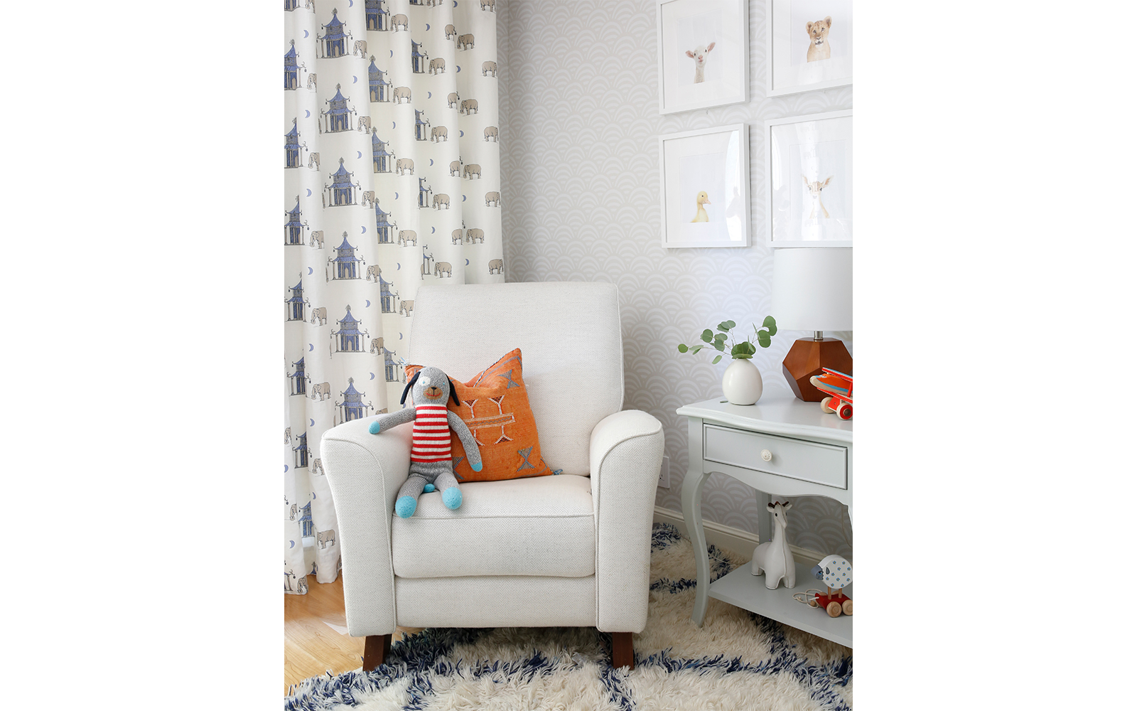 Hillsborough Nursery Decor Chair