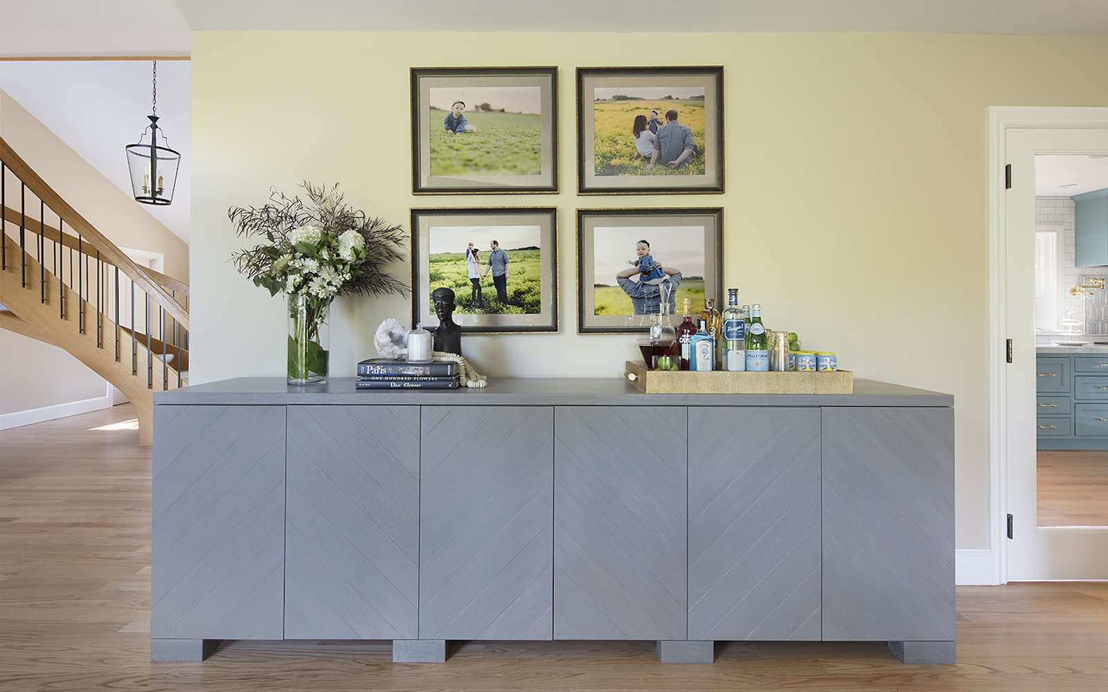 Hillsborough Living Room Interior Design Sideboard