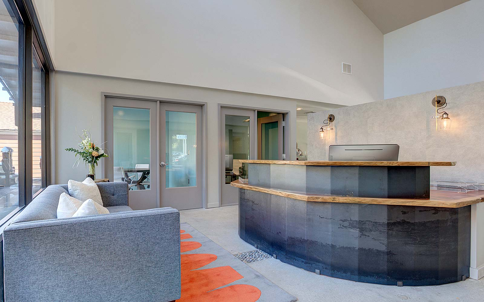 Modern, Napa interior designer, contemporary office space.