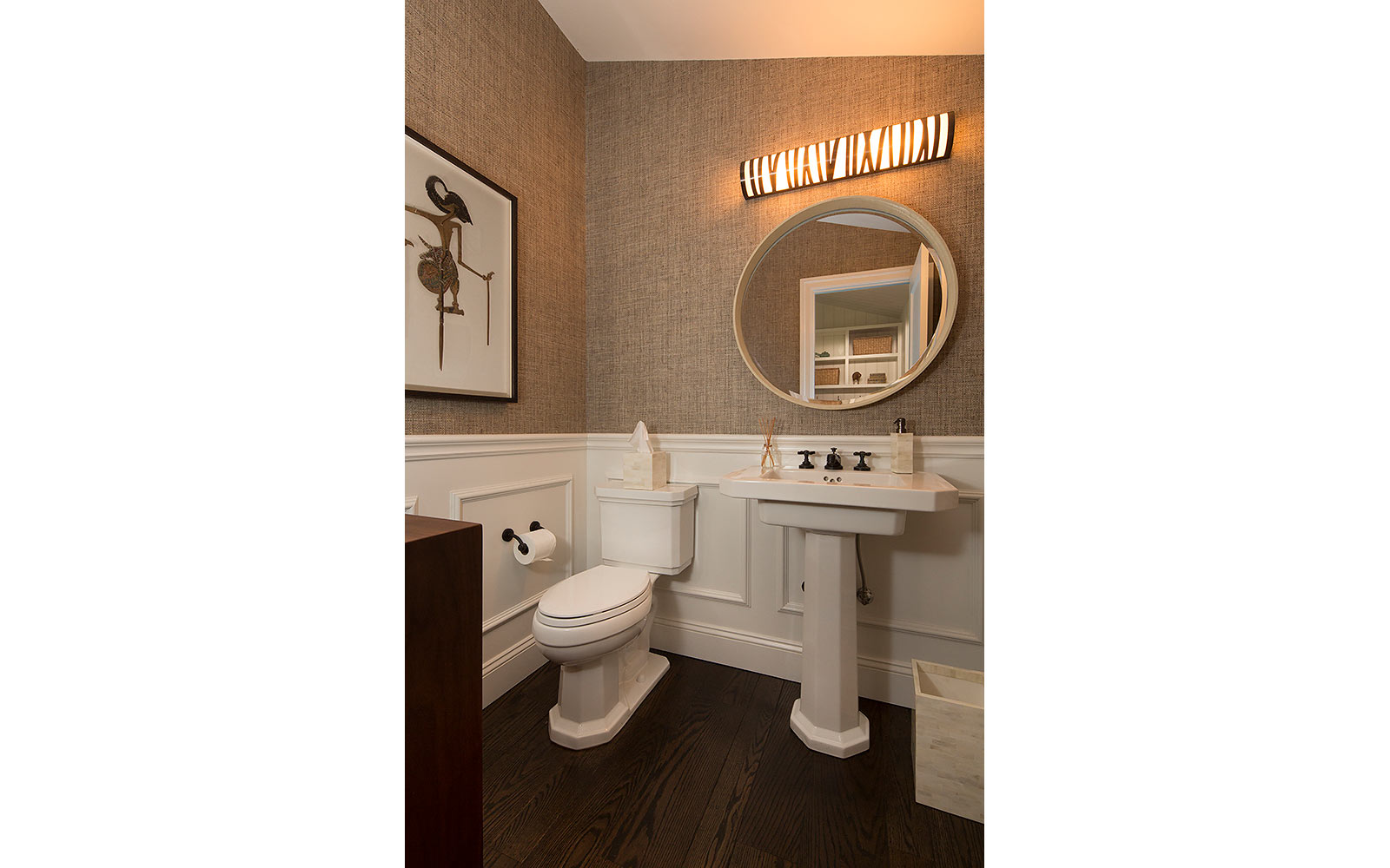 Guest Bathroom Remodel Modern Ranch Style Home Lafayette