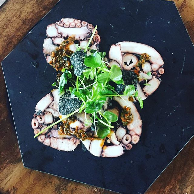 Octopus Terrine. Photo by Scott Gibson via Instagram
