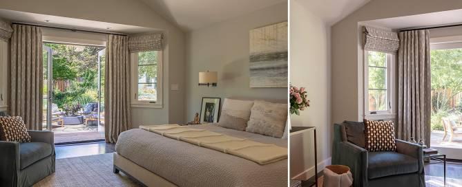 master suite interior design by LMB Interiors