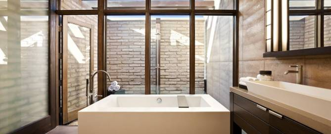 Clodagh Design Bathroom, connecting spiritual energy and design