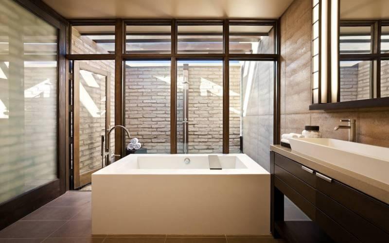Clodagh Design Bathroom, connecting spiritual energy and design