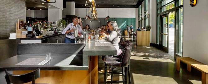 Brown Sugar Kitchen flagship restaurant designed by LMB Interiors