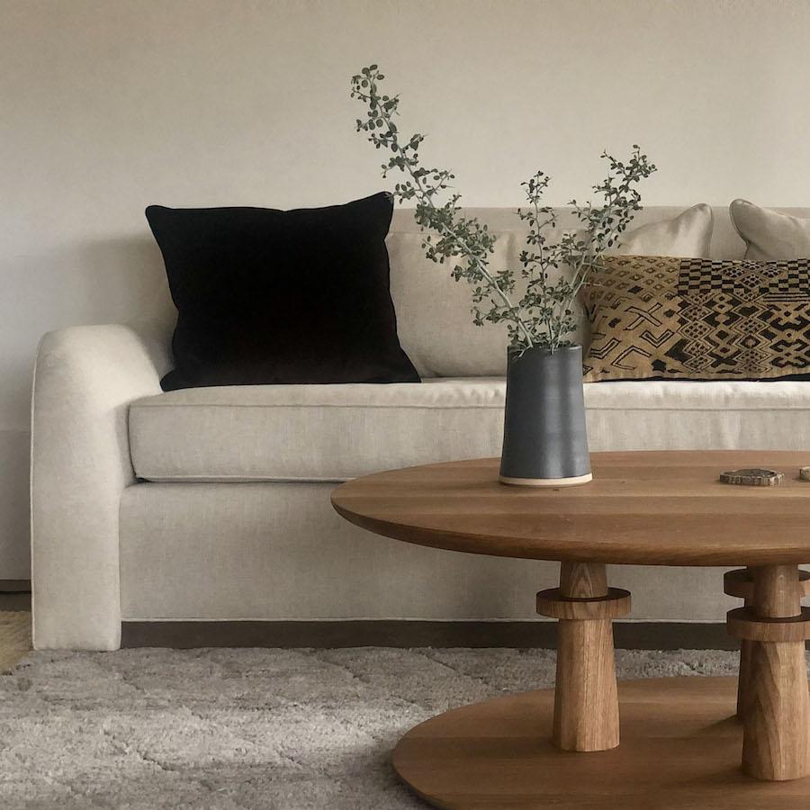 Hart Sofa and Kanu Coffee Table by Lane McNab