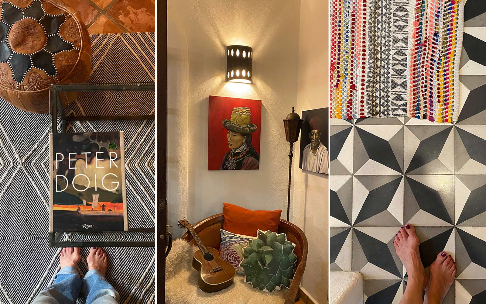 A trio of images from Laura's trip to San Pancho, Mexico.